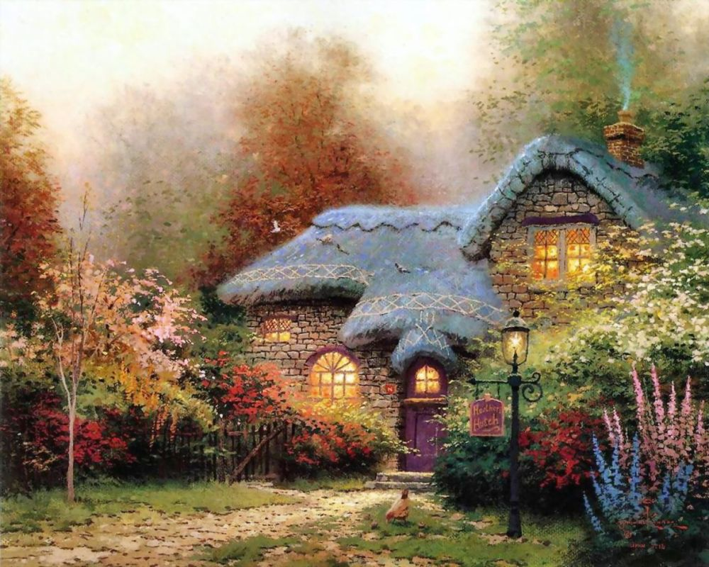 Celebrate the Life and Art of Thomas Kinkade (1/5)