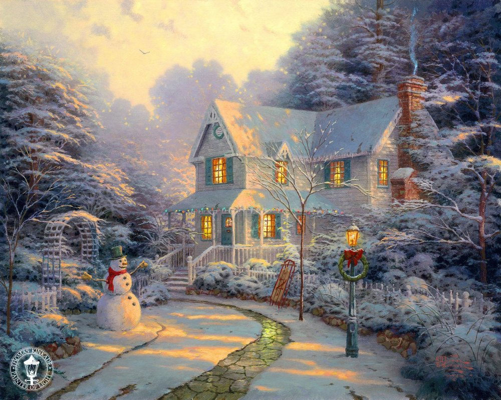 Celebrate the Life and Art of Thomas Kinkade (2/5)